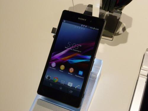 Sony's new Xperia Z1 smartphone