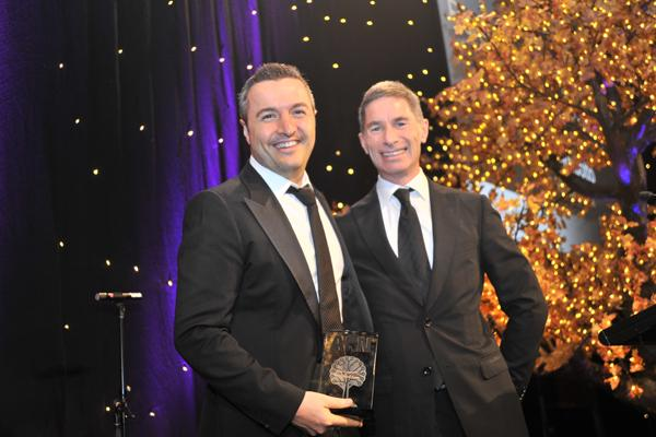 Alex Gambotto - CEO, The Missing Link at the ARN awards in 2014