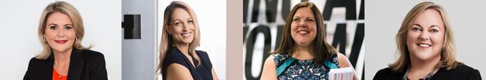 Julie Barbieri (HPE); Davinia Simon (AWS); Victoria Kluth (Araza) and Karen Drewitt (The Missing Link)