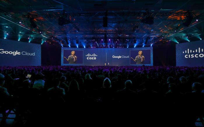 Google Cloud and Cisco unveiled hybrid cloud alliance in late 2017