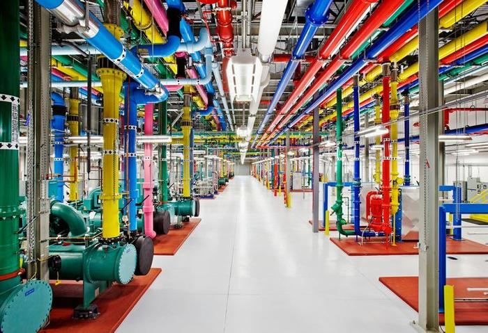 Inside a Google data centre