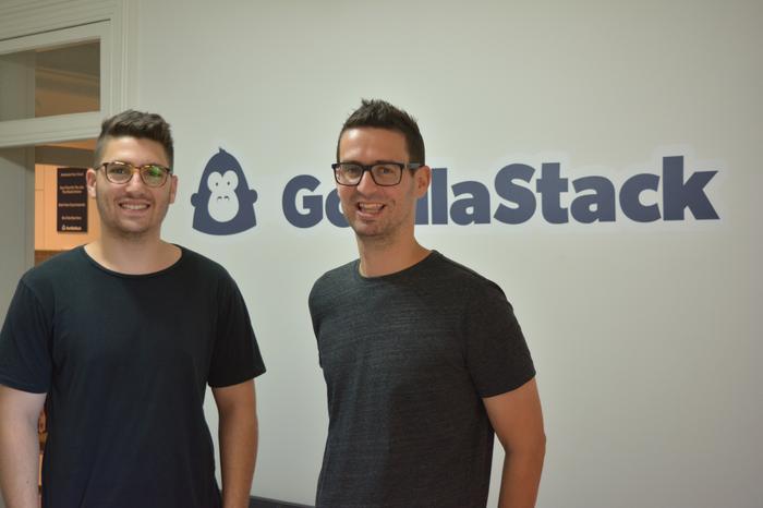 Elliott Spira (GorillaStack) and Oliver Berger (GorillaStack)