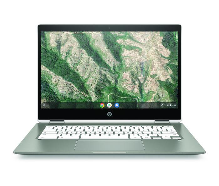 HP's Chromeboo x360 14b.