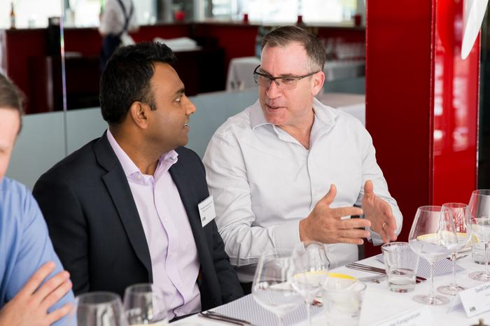 Muralee Kanagaratnam (APC by Schneider Electric) and David Cleminson (StratosQuo)