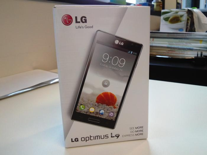 A photo we captured with the LG Optimus L9 (click to enlarge).