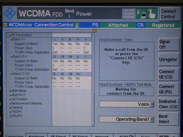 A test screenshot Kogan sent to PC World Australia allegedly specifying that the Agora works on the 850Mhz 3G network.