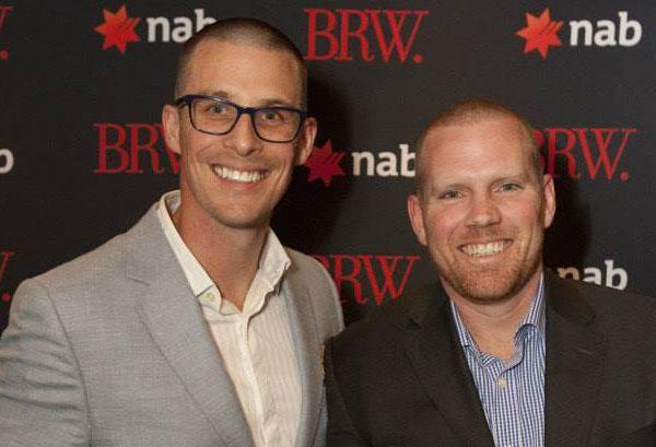 Mathew Coleman (COO - Mexia) and Dean Robertson (CEO - Mexia)