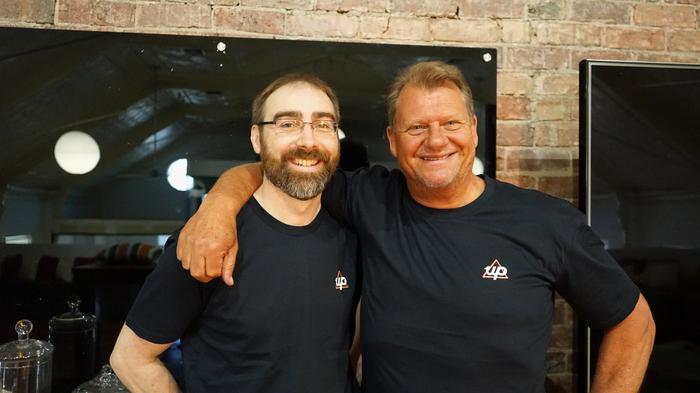 Up co-founders Dom Pym and Grant 'Thomo' Thomas